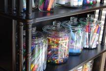 Storage ideas for child minding