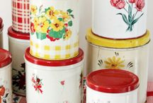 Vintage Tins and Containers