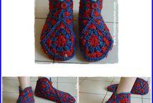 Panduflas crochet/ slipper