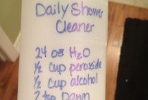 diy house cleaning / DIY  Natural Cleaning supplies. Chemical free