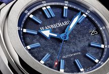 JEANRICHARD 39 mm en azul