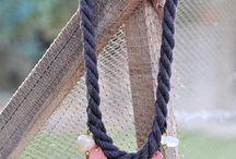 Κοσμήματα με σχοινί evagant / Jewellery with rope evagant