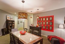 Basement Game Room / I had the pleasure of taking an unused basement and turning it into a grown-up game room. Using my client's massive comic book collection and fun toy collection, I designed a space that could be used and enjoyed by the entire family. My clients and I also had the pleasure of being featured in The Oregonian with our fun project.