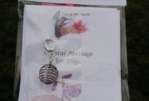 Out of the Earth - Crystal Massage & Meditation Kits for Pets / Healing Crystal Massage! Healing Crystals provide a Unique Vibrational Healing! Each Kit contains: 1 Healing Crystal + Info Card Instructions for both Massage & Meditation with your Dog 1 Organza Bag for your Kit