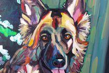 Pet Portraits by Elizabeth Fraser