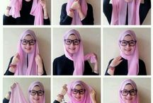 Hijab / Simple, for round face