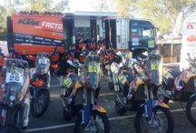 JT Racing / KTM Factory Racing Dakar Rally 2015 / Xstreme Distribution Team Riders  Marketing