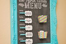 Menu board/meal planning