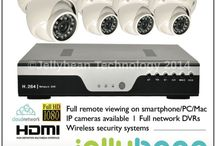 Products - CCTV & Security / Our current range of CCTV Security Systems. Either for Residential, Commercial or Vehicle Applications