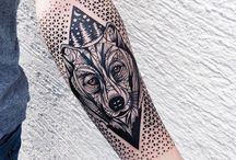 Geometric Tattoo Sleeve Idea's