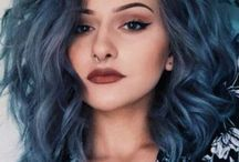 BLUE HAIR STYLES