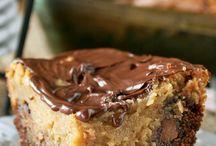 Rezepte / Erdnuss -Schoko Kuchen