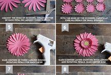 Ptrace ręczne - sztuczne kwiaty