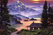 Cabins Paintings