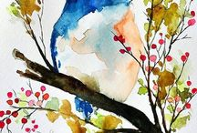 water coloring