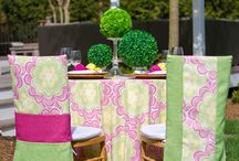 Outdoor Party Looks / Check out Table Wraps 2016 Spring and Summer Collection.  Bridal Showers, Weddings, Barbeques, Pool Parties - We have it all!!