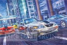 Michael Irvine Fine Auto Art - Ford & Mercury Paintings