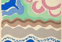 Sonia Delaunay / painting ,fashion illustration, fabric design,