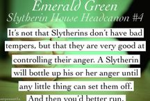 Slytherin / Slytherin quotes, gifs, head-canons, etc...