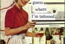 tattoos / by Barbara Wolfe