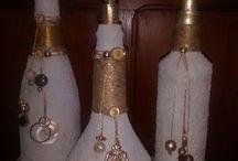 Μπουκάλια χριστουγεννιάτικα