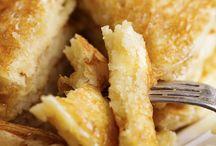 Butter milk pancakes