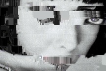 DISTRICΓ GLIΓCH ДЯΓ / Glitch picture portrait my fx face