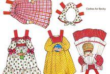 Бумажные куклы - маленькое счастье деток