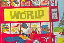 Travel and World Books / Libri in inglese per bambini che parlano di viaggi e delle bellezze del mondo, con storie ma anche con atlanti, mappe e racconti di viaggio