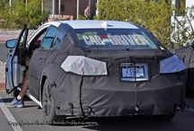 TLX sneak pictures / Acura's next generation mid-sized sedan.