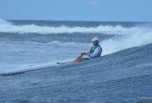 Ski paddling / My passion, ocean ski racing..