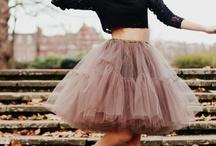 faldas / faldas largas y cortas