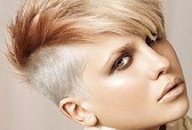 naisten lyhyet hiukset