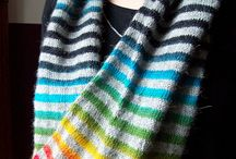 Stripes! / There's nothing better than knitter or crocheted stripes!