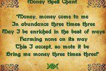 MONEY SPELLS...