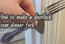 dinnerfork doorlock