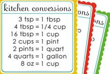 Cooking Tips / Don't know how many teaspoons are in a tablespoon? Find out on this board and get other cooking tips here!