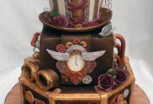 Steampunk Cakes