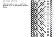 VZORY / různé vzorky na mandaly