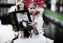for Alice in Wonderland Shoot
