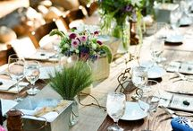 Party Ideas: Tablescapes / by Jeannie McCulloch