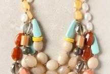 DIY: Necklace Inspiration - Strung Beads / by Ellen Thompson