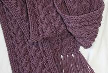 นิตติ้ง ผ้าพันคอ