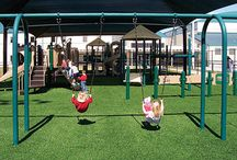 Playground Grass for the Kids / Grass just for the kids, by Field of Green.