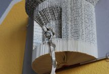 Book art / Things to create with old books