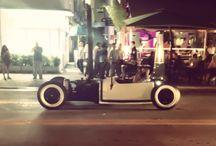 Custom car / Miami south beach