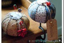 pincushions / by Sharon Cutbirth Hollenbeck Malenke