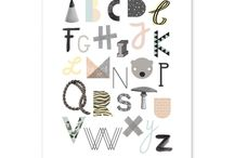 > a b c < / All kinds of alphabets / by Kapitein Kunst
