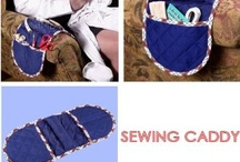Sewing remote control and various item, caddy ideas