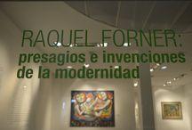 Raquel Forner: presagios e invenciones de la modernidad. / La muestra se expuso en la Sede de Artes Visuales (Valentín Gómez 4838, Caseros) desde octubre hasta diciembre de 2013.